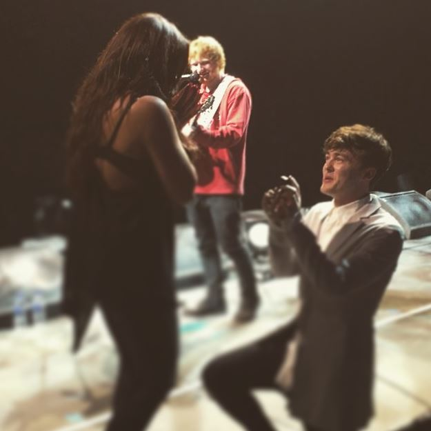 Little Mix star Jesy Nelson and Jake Roche are ENGAGED after Ed Sheeran helps with proposal