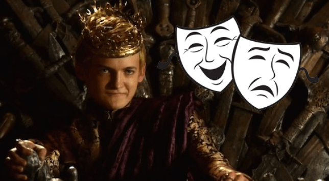 Joffrey's treading the boards (Picture: HBO)
