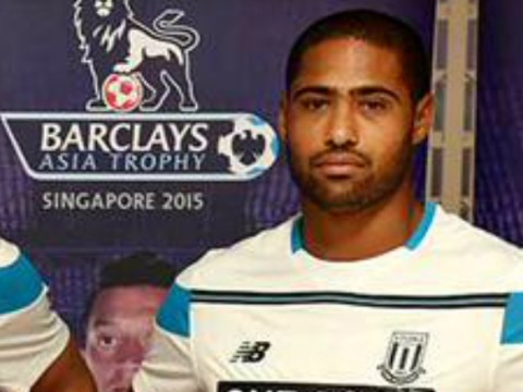 Glen Johnson looks absolutely miserable after completing Stoke City transfer from Liverpool