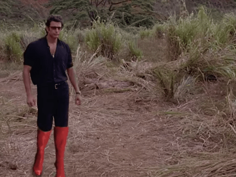 It's Jurassic Park – the high heels edition
