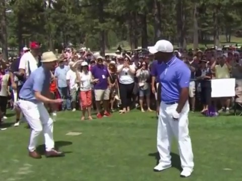 Justin Timberlake and Alfonso Ribeiro did the Carlton Dance together on a golf course and it was awesome