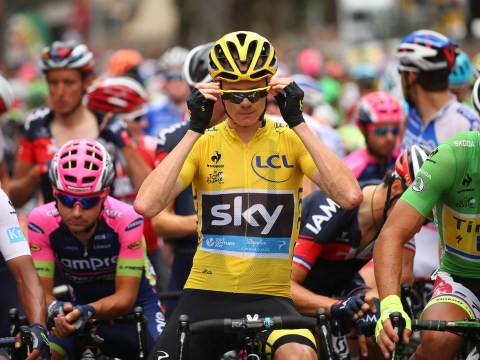Tour de France: Chris Froome claims urine was thrown at him as he extends lead on 14th stage