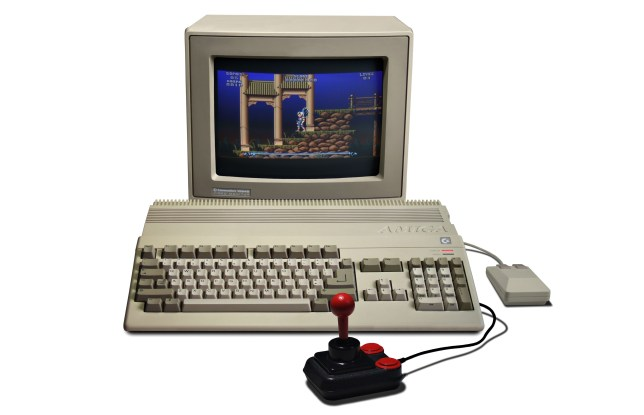 Who needs a console when you have an Amiga 500?