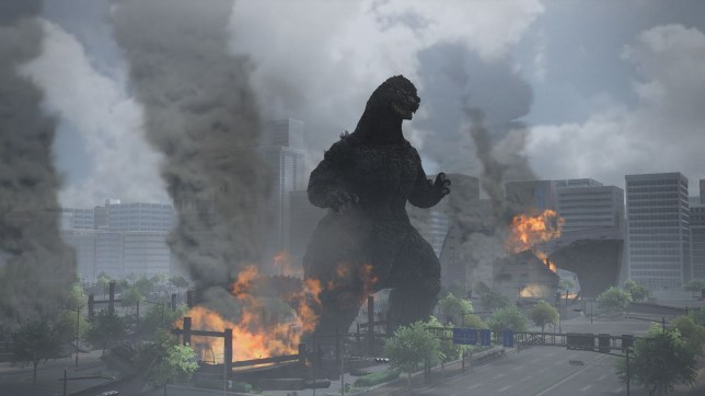 Godzilla (PS4) - the whole game is a wreck