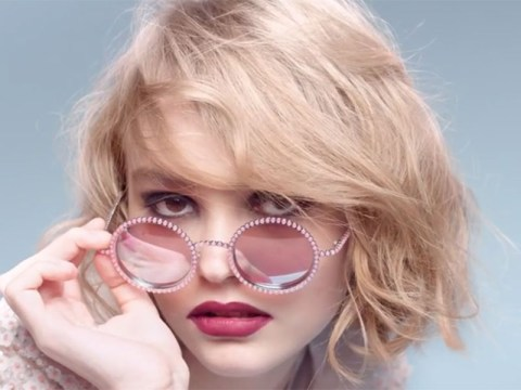 Johnny Depp's daughter Lily-Rose revealed as the new face of Chanel