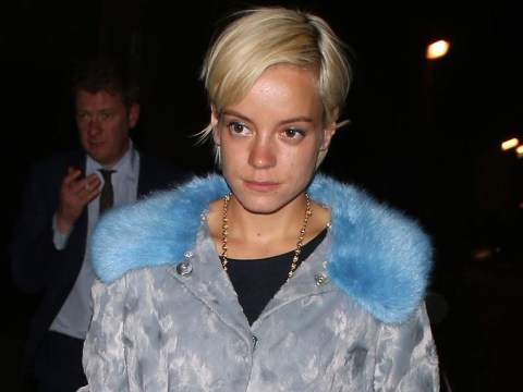 'Totally fine' Lily Allen sends kisses to fans after news of her collapse at Glastonbury