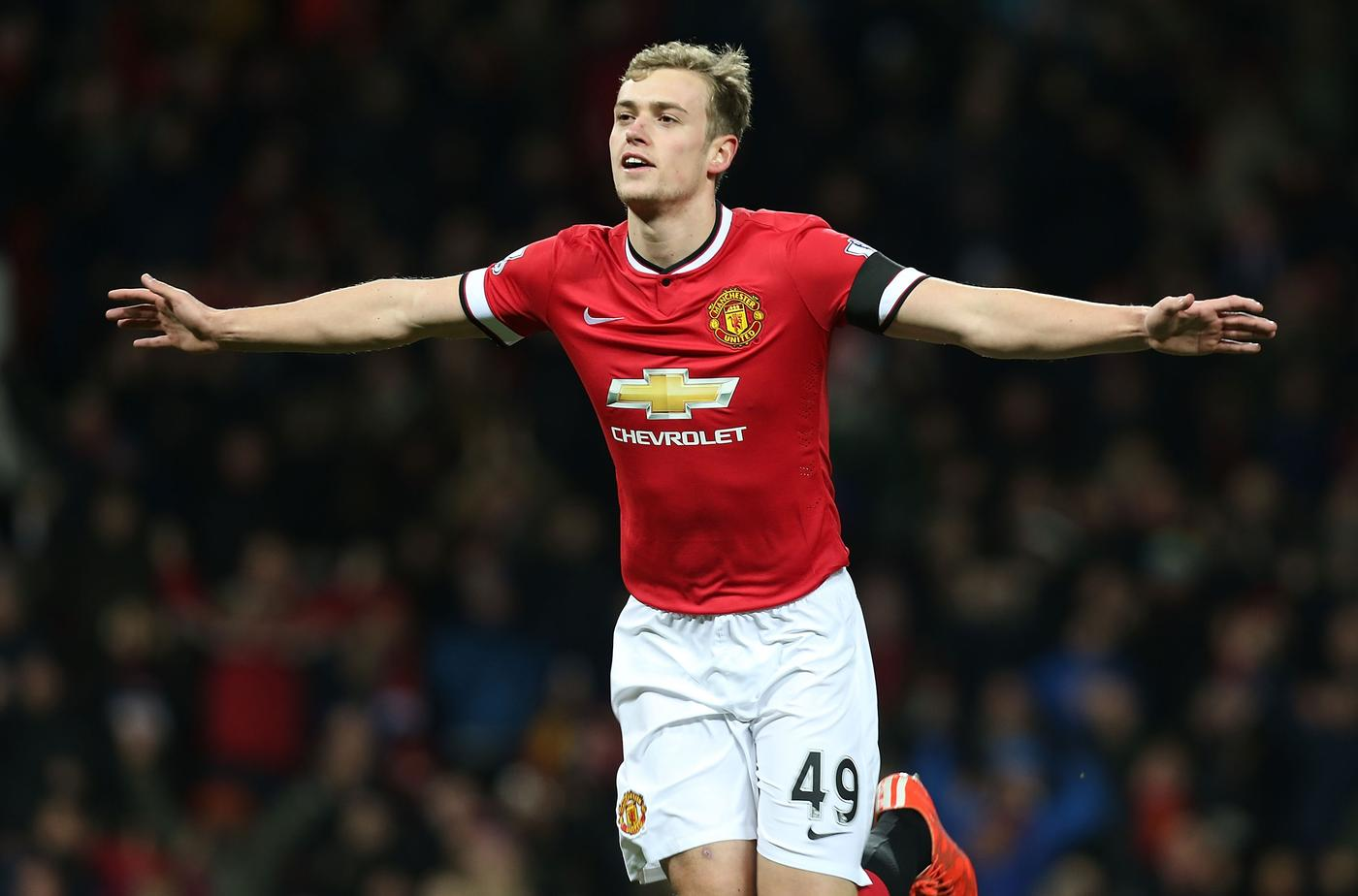 Hull 'lining up loan move for Manchester United striker James Wilson'
