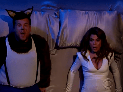 James Corden and Paula Abdul perfectly recreate her Opposites Attract video