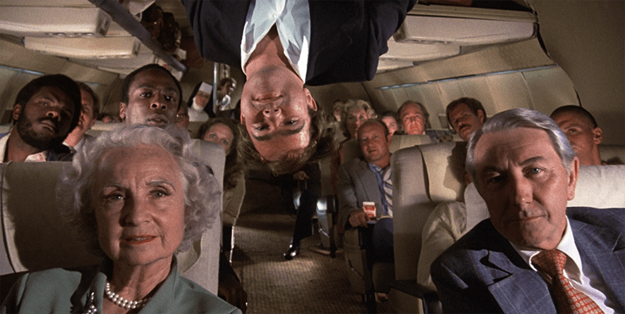 Airplane movie grab