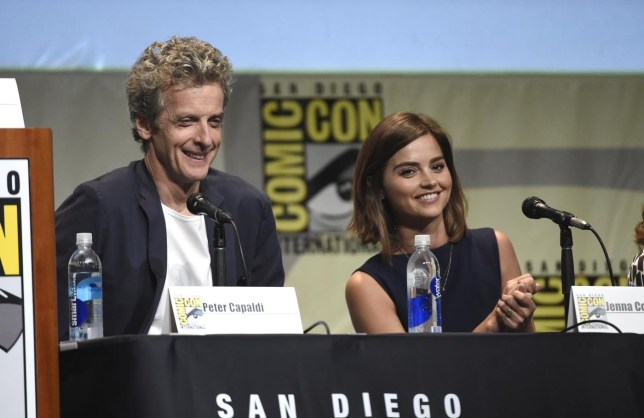 Peter Capaldi, Jenna Coleman Chris Pizzello/Invision/AP