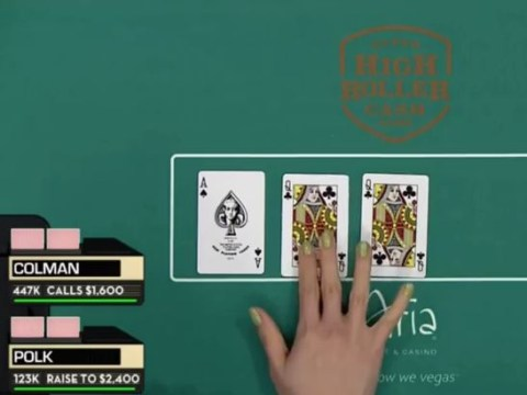 What happens in a poker game when two cards come out the same?