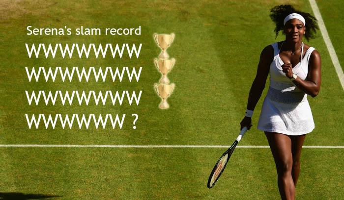 Serena Williams continues incredible slam record with Wimbledon 2015 win over Maria Sharapova