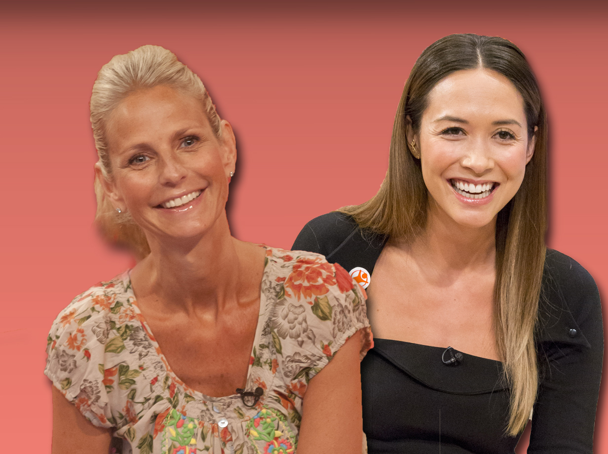 Ulrika Jonsson offers Myleene Klass parenting advice