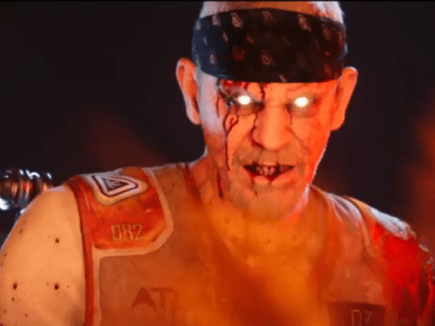 John Malkovich is a totally scary zombie in the new Call of Duty: Advanced Warfare add-on