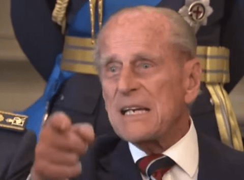 Prince Philip tells slow photographer to 'just take the f***ing picture'