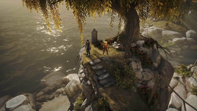 Brothers: A Tale Of Two Sons (PS4) - dual control
