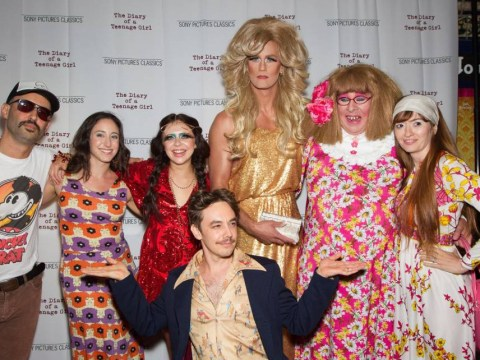 Alexander Skarsgard went to the premiere of Diary Of A Teenage Girl in drag