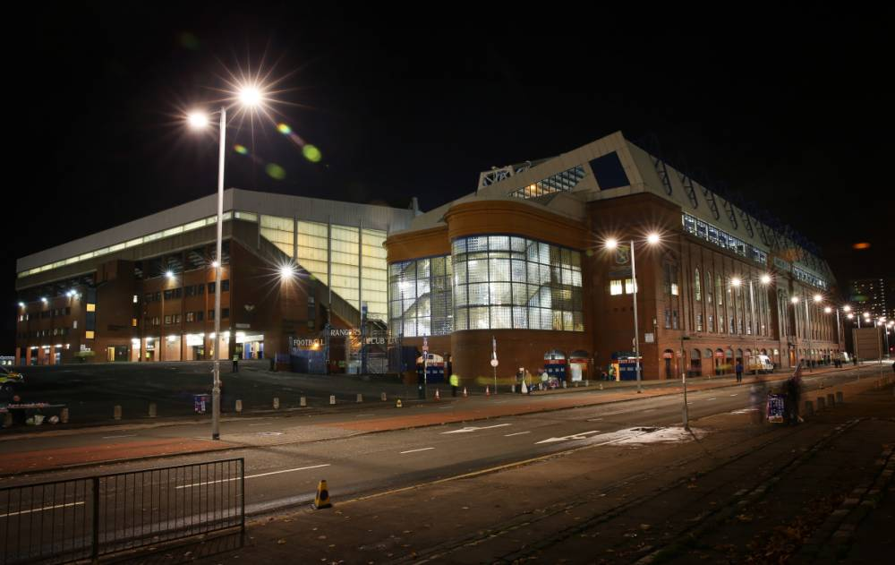 GLASGOW, SCOTLAND - OCTOBER 28: General views of Ibrox Stadium during the Rangers v St Johnstone - Scottish League Cup Quarter-Final at Ibrox Stadium on October 28, 2014 in Glasgow, Scotland. (Photo by Ian MacNicol/Getty Images)