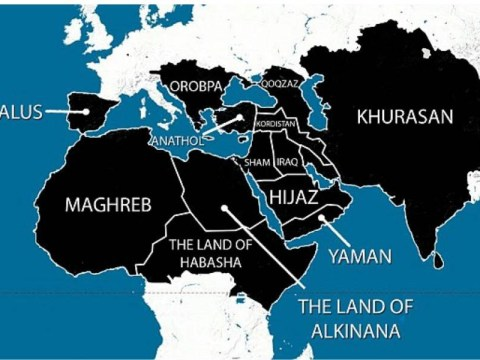 Isis map 'shows plans for domination of Europe, North Africa and Middle East'