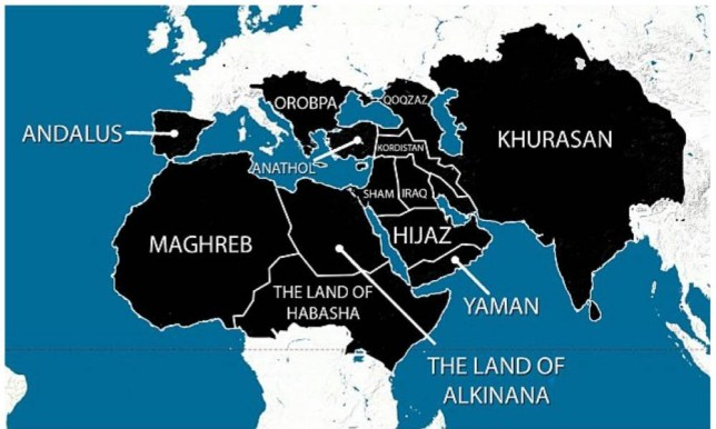 Isis map reportedly shows plans for domination of Europe ...