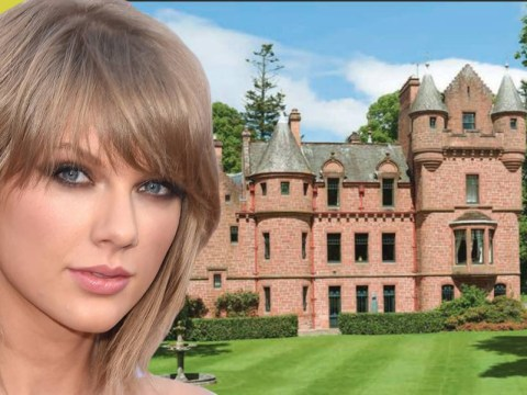Taylor Swift is thinking about buying a huge castle to be nearer to Calvin Harris…or not