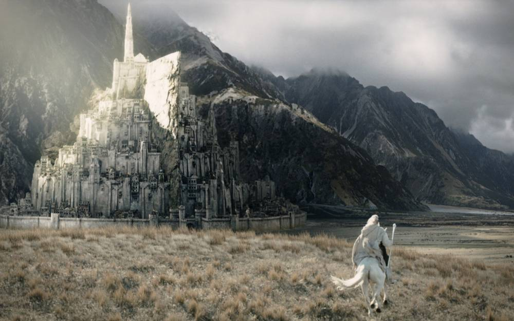 A group of architects are crowdfunding to build Minas Tirith from Lord of the Rings in England