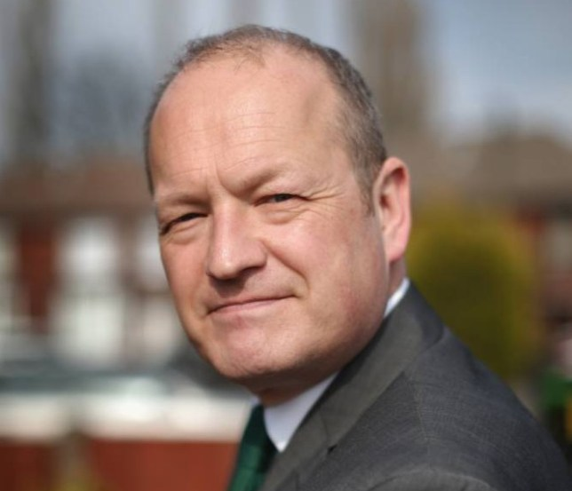 ROCHDALE, ENGLAND - APRIL 10: Labour party candidate Simon Danczuk campaigns on the streets of Rochdale as the second week of electioneering comes to a close on April 10, 2015 in Rochdale, England. Simon Danczuk has been the current MP for Rochdale since 2010 and has gained a reputation for being 'outspoken and maverick'. (Photo by Christopher Furlong/Getty Images)