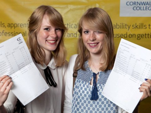 Identical twins get the same A Level results and now they're heading to the same university