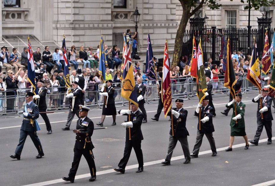 Mandatory Credit: Photo by Ray Tang/REX Shutterstock (4962867d) Veterans attend VJ day commemorations 70th Anniversary VJ Day commemorations, Cenotaph, Whitehall, London, Britain - 15 Aug 2015 70th Anniversary of Japan's WWII surrender