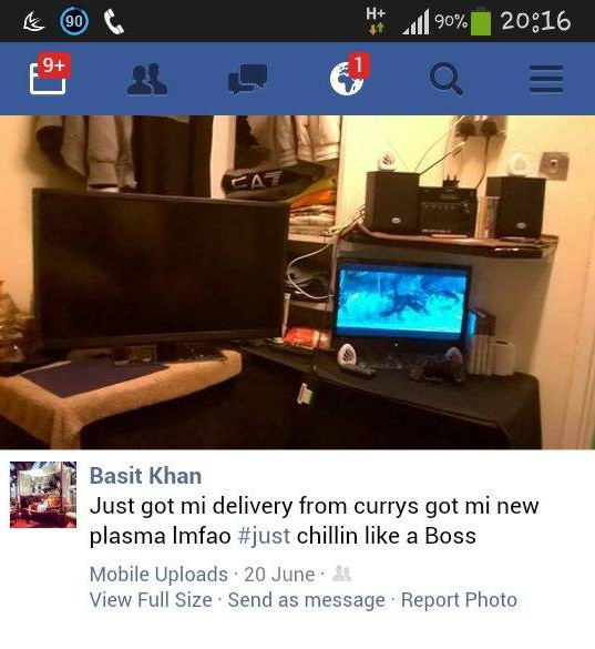 Drug dealer Adbul Basit posts selfies from his prison cell   Metro News