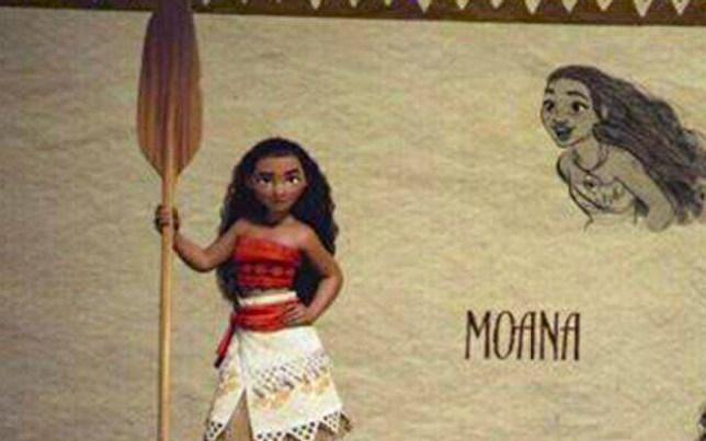 Disney's new princess: Moana Source: Disney