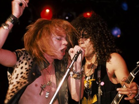 Is this proof that Guns N' Roses are getting back together for a reunion tour?