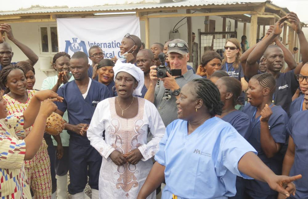 'The fight continues': Last Ebola patient in Sierra Leone released from hospital