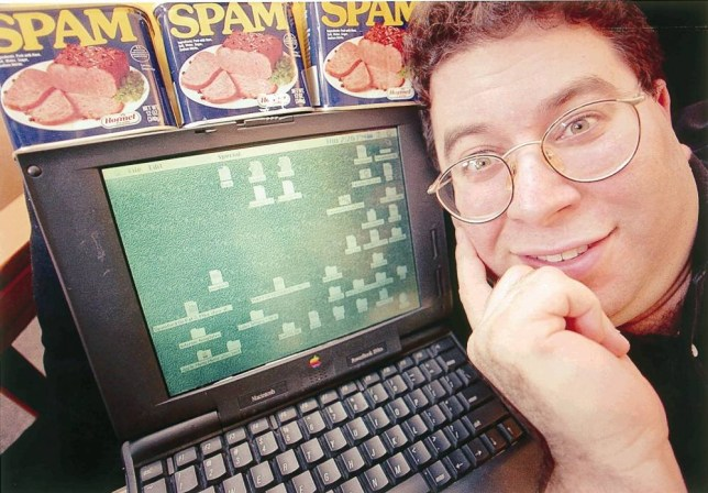 Sanford Wallace alias 'Spamford' President Cyber Promotions junk e-mail business