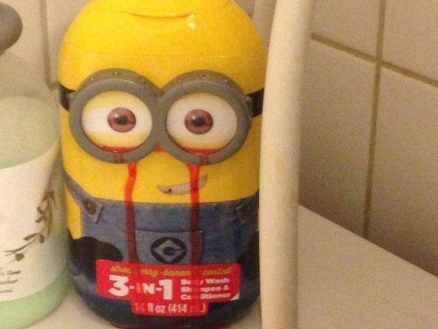We don't know about you but this Minions body wash is giving us the creeps…