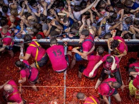 La Tomatina celebrates its 70th anniversary with lots of squishy tomato fun