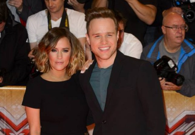 Mandatory Credit: Photo by Jonathan Hordle/REX Shutterstock (5002276v) Olly Murs and Caroline Flack 'The X Factor' TV series launch, London, Britain - 26 Aug 2015