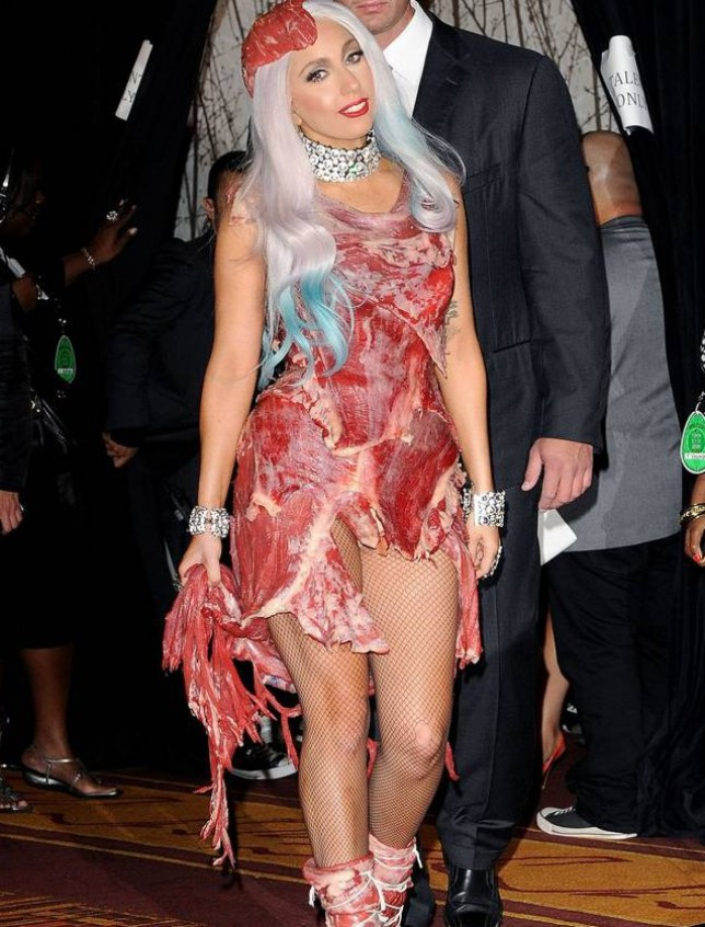 After 5 years Lady Gaga's meat dress still exists, and it
