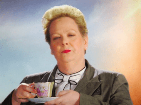 Watch The Chase star Anne Hegerty terrify the whole of Australia in hilarious trailer