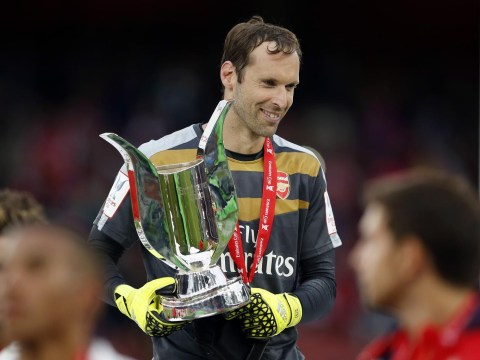 Petr Cech can be just as successful at Arsenal as Edwin van der Sar was at Manchester United, claims Wenger