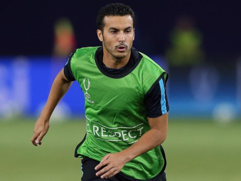 Pedro closing on Manchester United transfer after being benched for Barcelona v Sevilla Super Cup clash