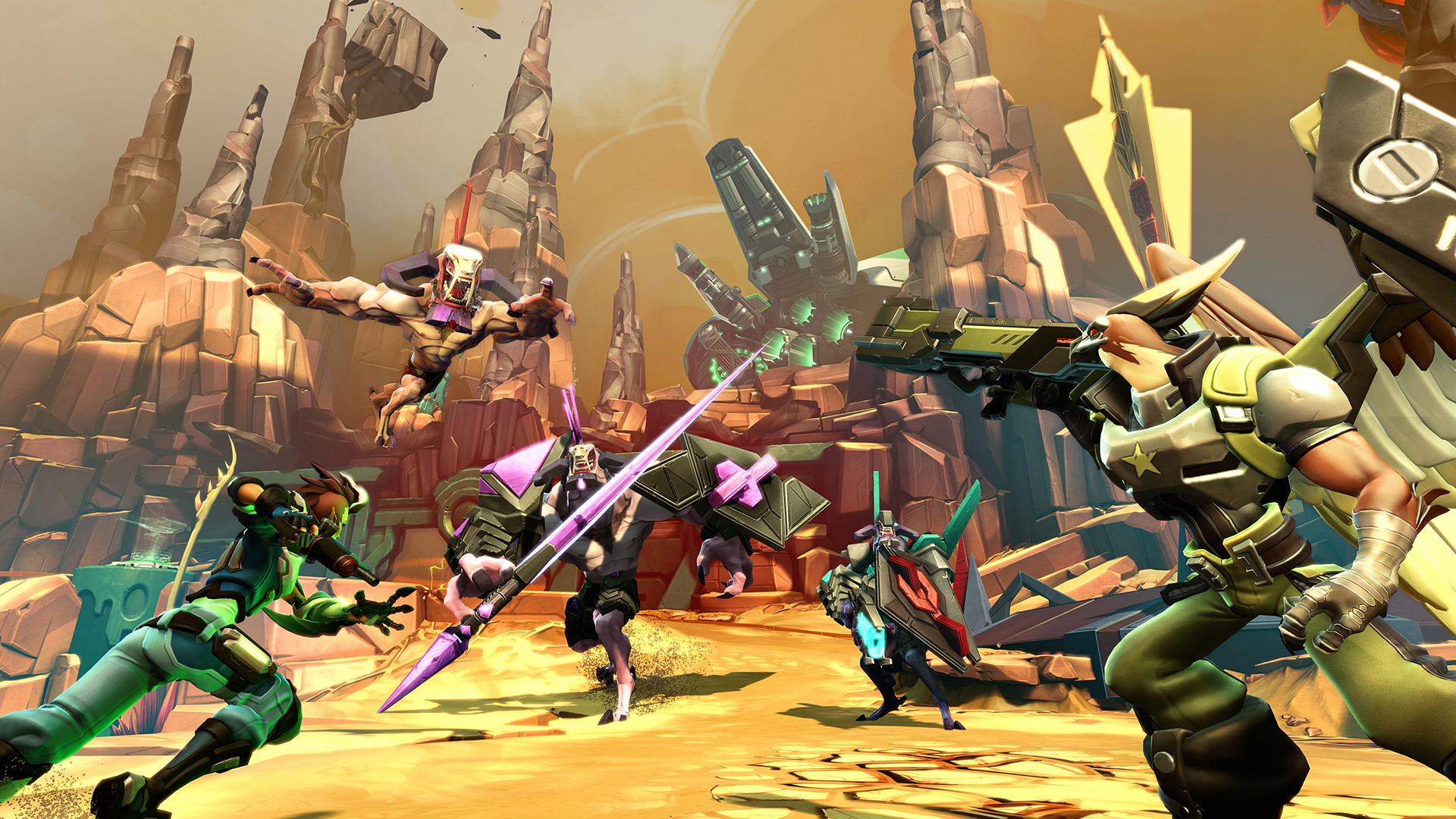 Battleborn - why make do with four-player when you can have five?