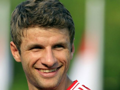 Thomas Muller's 'transfer' to Manchester United is front page news in Germany