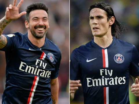 Arsenal 'line up double transfer swoop for Paris Saint-Germain's Edinson Cavani and Ezequiel Lavezzi'