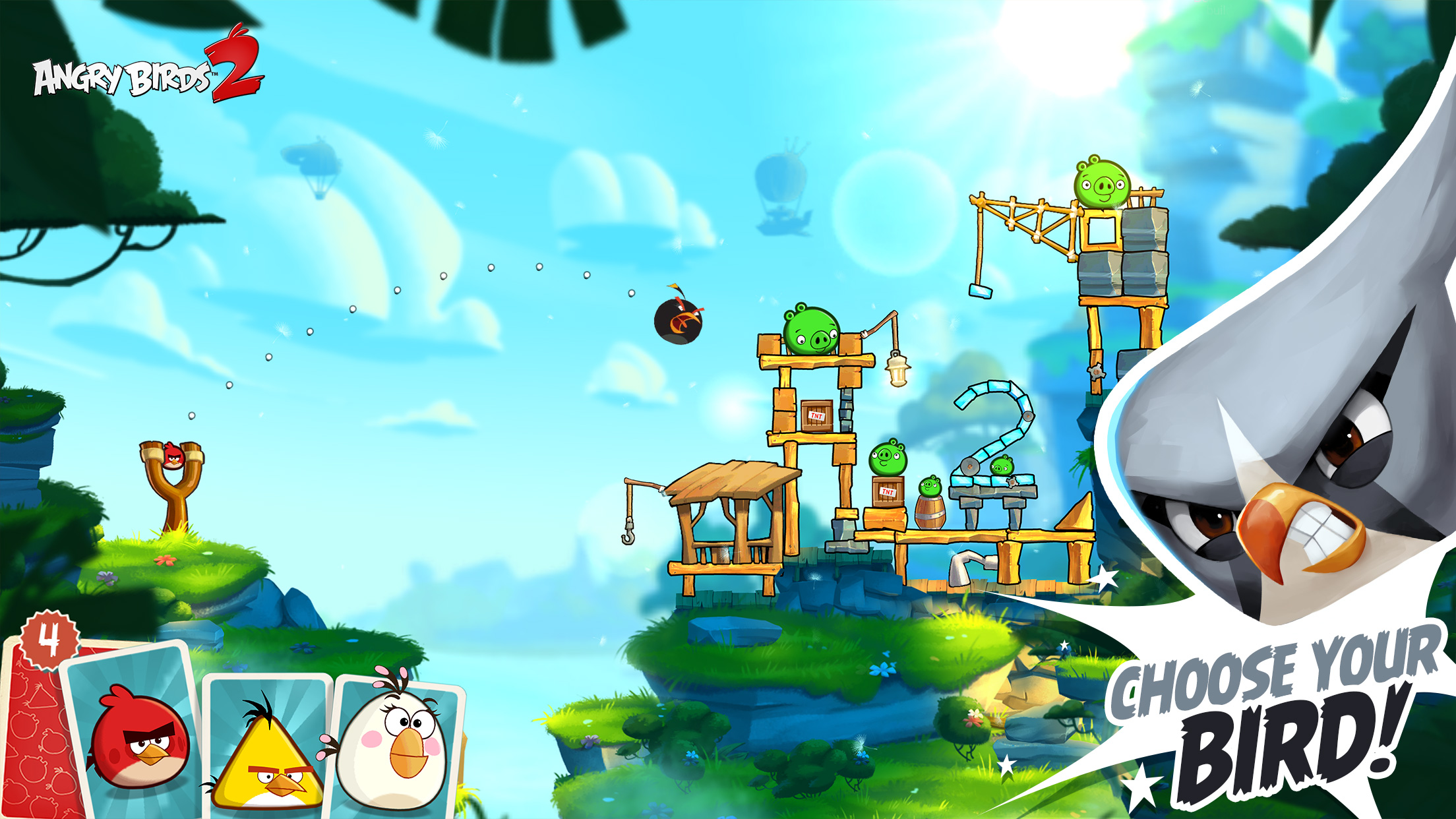 Angry Birds (iOS) - a strange definition of free-to-play
