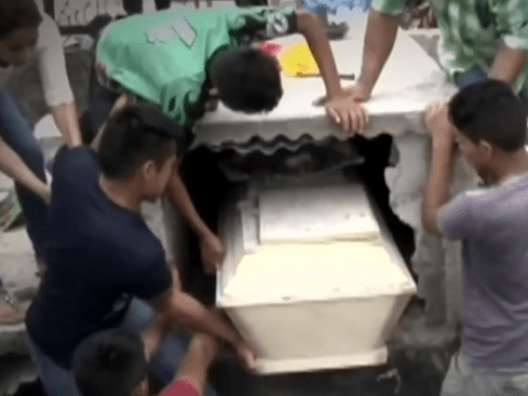 Relatives smash coffin after hearing 'screams' of dead girl inside