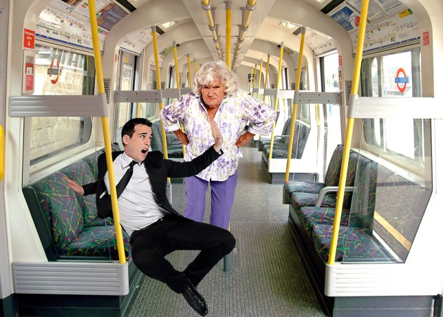 Pensioner comes to the rescue of woman accused of dressing too revealingly on tube Source: Getty Images Credit: METRO/mylo