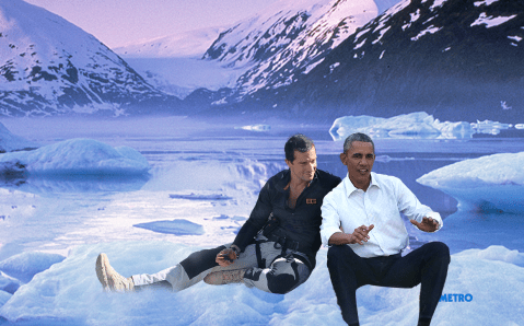 Bear Grylls to put President Barack Obama through his paces in new wilderness show