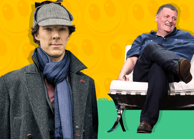 Sherlock's NICER in Victorian Christmas special reveals Steven Moffat: 'He's a lot less brattish' Source: REX Features CREDIT: METRO/mylo