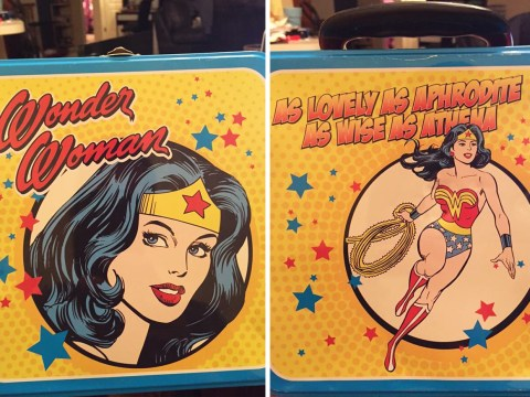 Parents told their daughter's Wonder Woman lunchbox is too violent for school